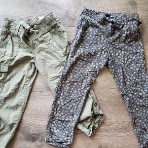 Girls size 8 gap and candies pants